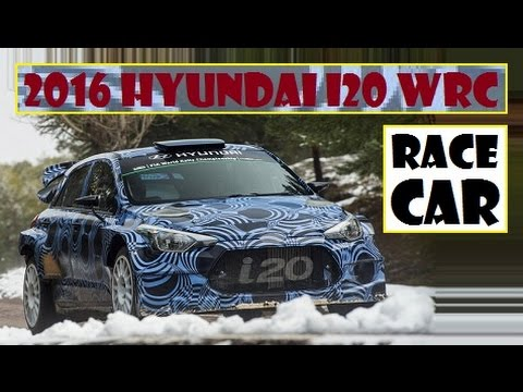 2016 hyundai i20 wrc tested but to race until the start