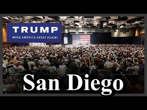 LIVE Donald Trump Rally in San Diego California FULL SPEECH HD STREAM (5-27-16) ✔