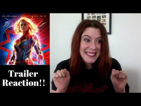 Captain Marvel Special Look REACTION!!