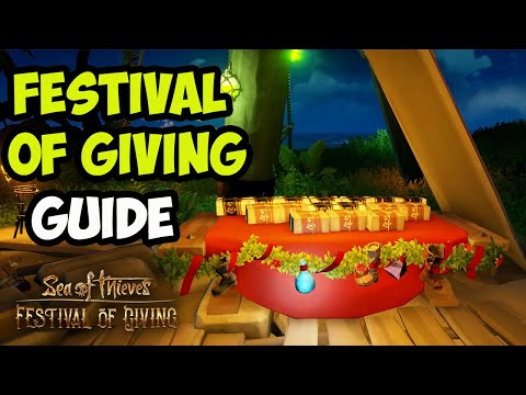 Sea Of Thieves: Festival Of Giving - Ashen Treasures - GUIDE