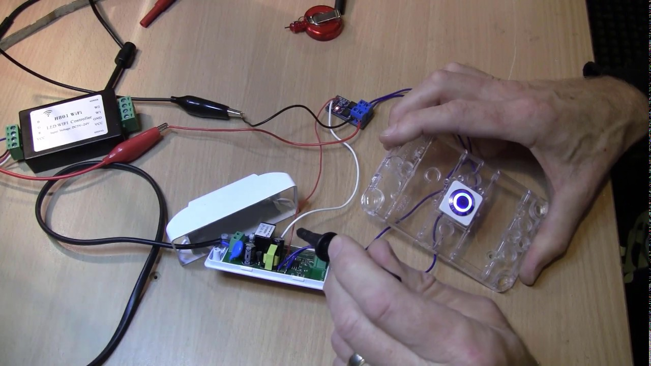 Sonoff GPIO high current control using PWM and Mosfet PCB