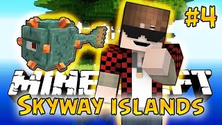 Minecraft: SkyWay Islands Survival #4 - THE GUARDIANS! (Epic Sky Adventure)