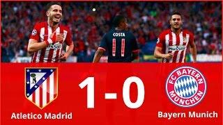 Atletico Madrid vs Bayern Munich 1-0 Highlights & Goals (Champions League) HD 2016   29/09/2016