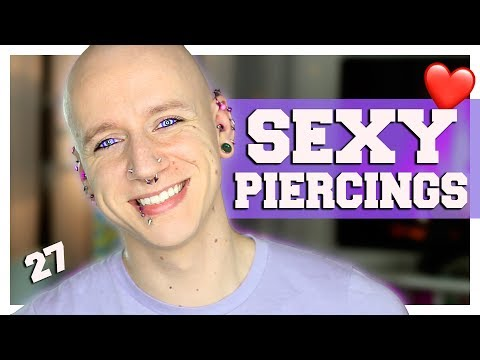 Sexiest Piercings For Guys | Piercing FAQ 27 | Roly