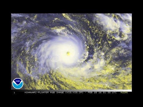 Severe Tropical Cyclone Winston / 11P (2016)