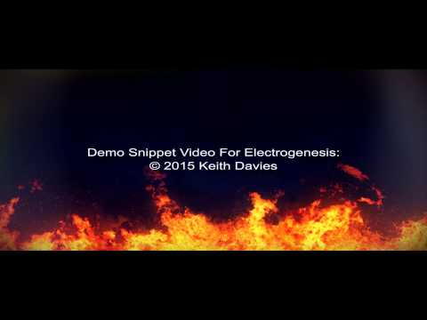 ELECTROGENESIS - the demo snippet period