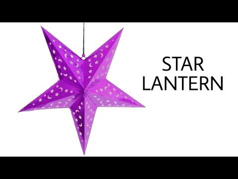 STAR Lantern 🏮 for Diwali | Christmas | Eid - DIY Tutorial by Paper Folds - 936