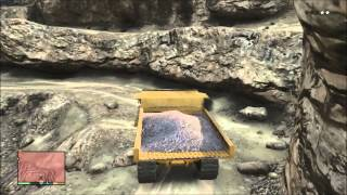 GTA V Dump Truck and Bulldozer location and review