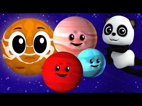 Pianeta Canzone | sistema solare | Impara i pianeti | Planets Song