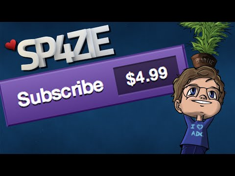 ♥ Sp4zie Subscribes on Twitch