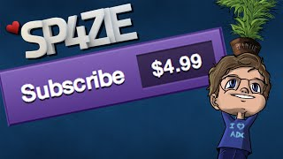 ♥ Sp4zie Subscribes on Twitch thumbnail