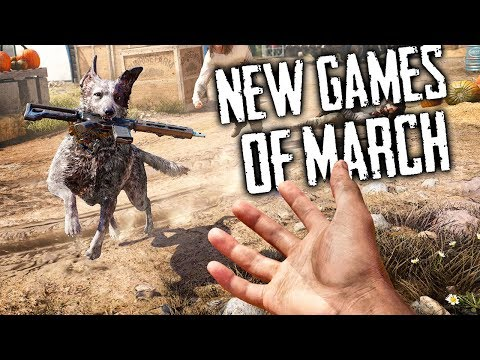 Top 10 NEW March Games of 2018