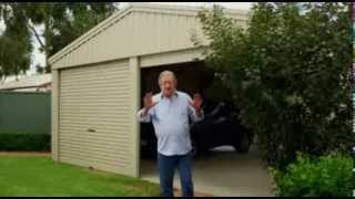 Stratco Homeshed Garages And Storage Sheds | Tv Commercial | Michael Caton