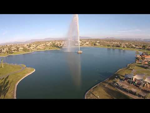 The fountain of Fountain Hills, AZ