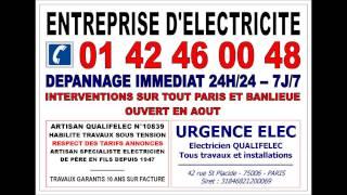 PLOMBIER PARIS 15 75015 DEPANNAGE PLOMBERIE 24/24 -- 01 42 46 00 48(, 2015-04-28T12:40:35.000Z)