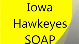 Making Hot Process Crockpot Iowa Hawkeyes Soap