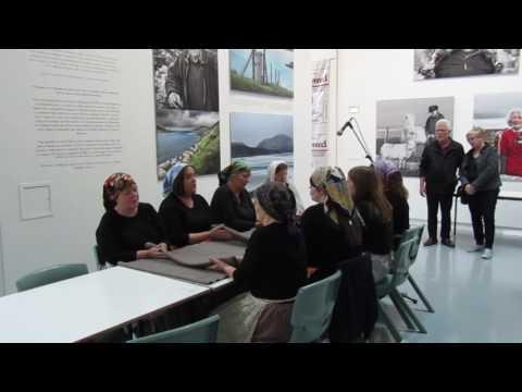 Waulking song from Laxdale Choir at An Lanntair 1/8/16