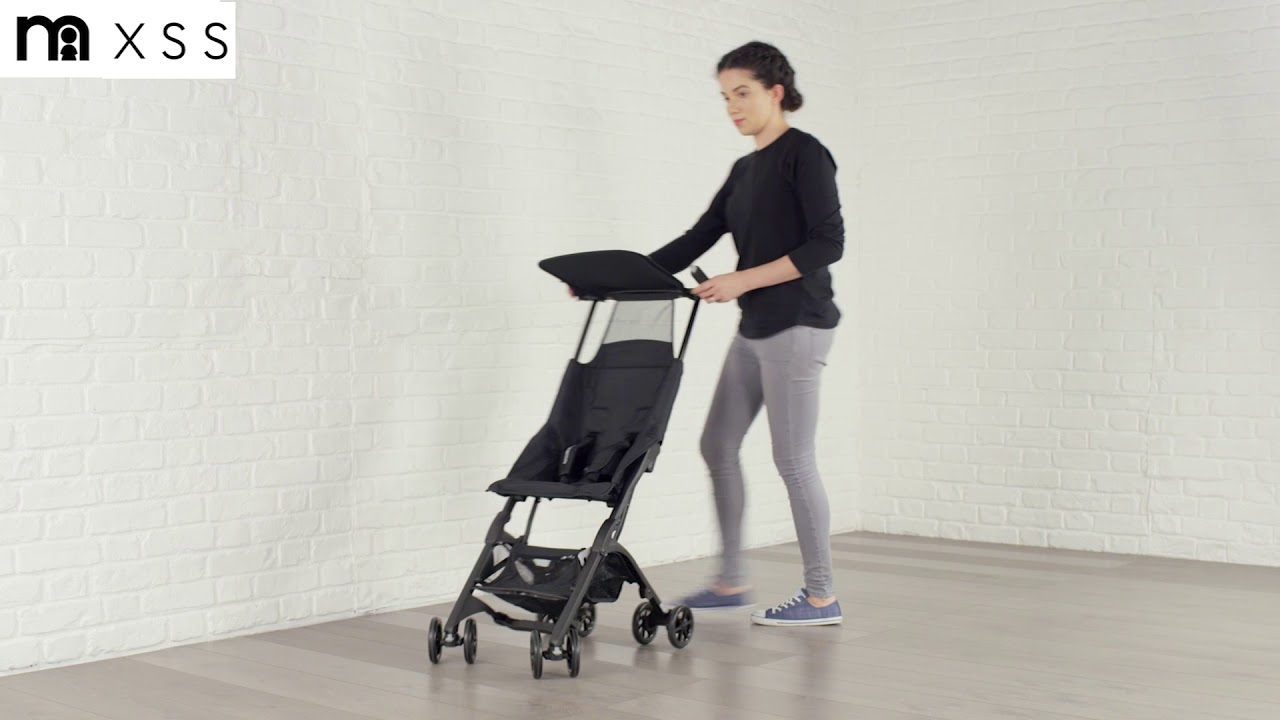 XSS Mothercare Compact Stroller Demonstration - YouTube