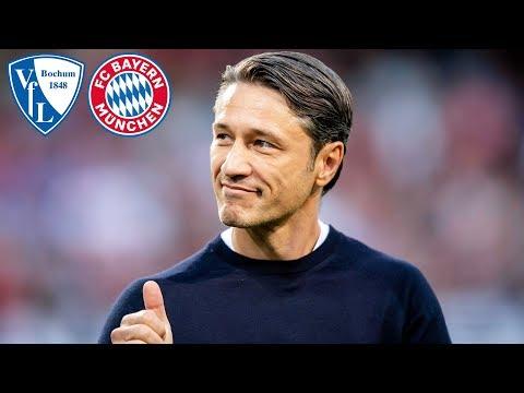 FC Bayern Pressetalk mit Niko Kovač vor dem DFB-Pokalspiel beim VfL Bochum
