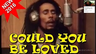 could you be loved bob marley original video