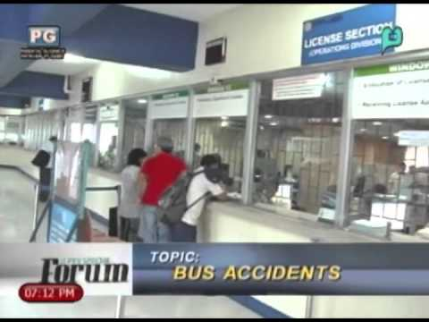 (Part 1/3) BUS ACCIDENTS - A PTV Special Forum [February 19, 2014]