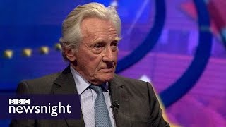 Lord Heseltine on Brexit Day: 'We've lost power and influence' - Newsnight