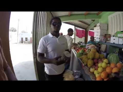 SIGHTSEEING - Sal, Cape Verde Islands - Espargos Market (Mandioca, Yam, Fruits, Vegetables)