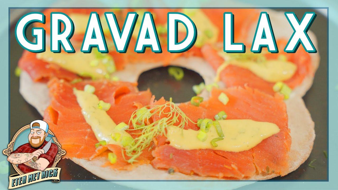 De lekkerste zalm uit Scandinavie: Gravad Lax met Knäckebröd | EtenmetNick | How to