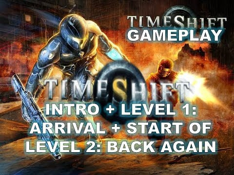 Timeshift Gameplay levels 1 and start of 2