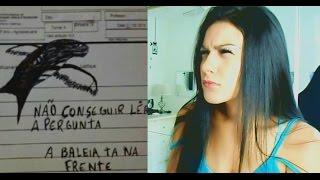 RESPOSTAS DE PROVA ENGRAÇADAS - Pérolas da J@que