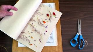 Pressing Flowers - Tips and Adding Weight for Drying