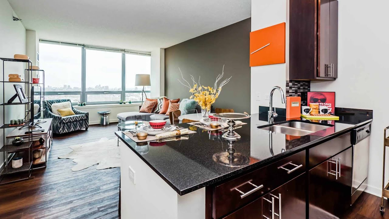 Tour A Fulton River District Luxury 1 Bedroom At K2