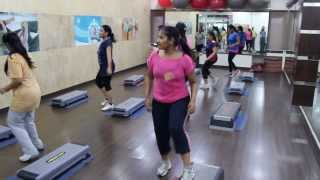 AEROBIC SESSION #4 at EXOTICA GYM (HD Video)