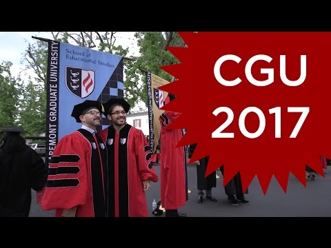 Congratulations to the Claremont Graduate University Class of 2017