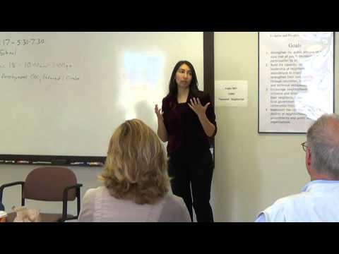 Brandy Williams talks about Neighborhood, Government and Democracy part 4