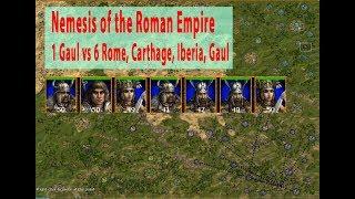 Nemesis of the Roman Empire - 1 vs 6 Very Hard AI - Game 1