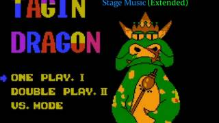 Tagin' Dragon (NES) - Stage Intro & Odd-Numbered Stages Music (Extended)
