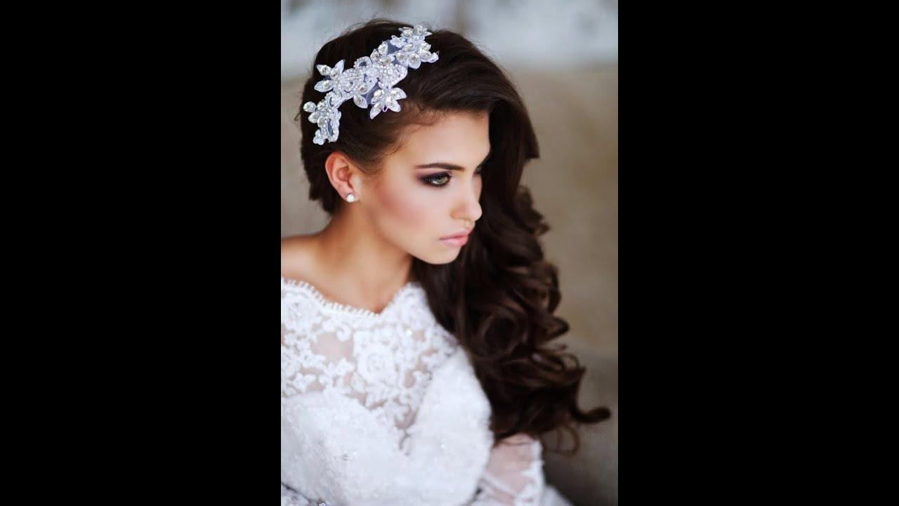 Прически для невесты красивые