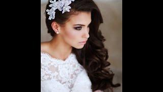 Самые красивые свадебные прически 2017