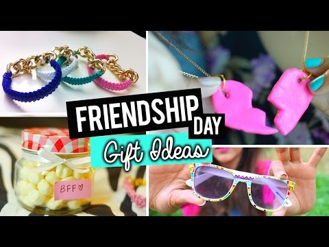 DIY:  EASY FRIENDSHIP DAY GIFT IDEAS