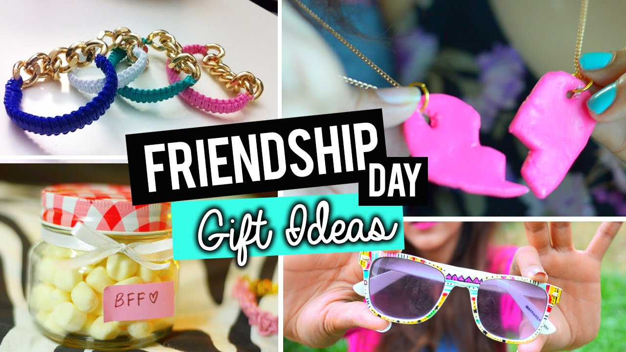 Diy easy friendship day gift ideas youtube for Easy presents to make for friends