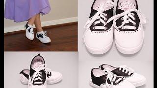 Inspired Saddle Shoes