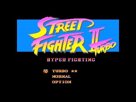 [1/3] STREET FIGHTER II Turbo(SNES)