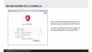 Instalación y tareas post-instalación en consola G Data