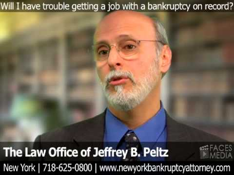 Will I Have Trouble Getting A Job With A Bankruptcy On My Record?