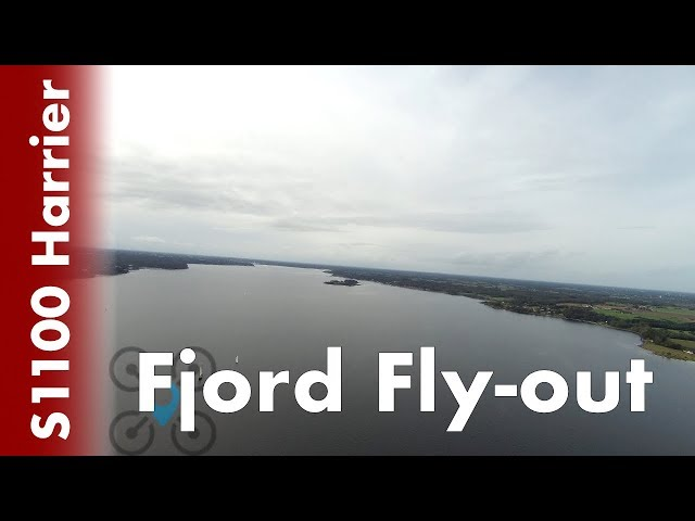 Reptile Harrier S1100 - Fjord fly-out with iNav #10