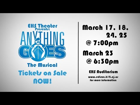 Edison High School Theater Presents: Anything Goes The Musical