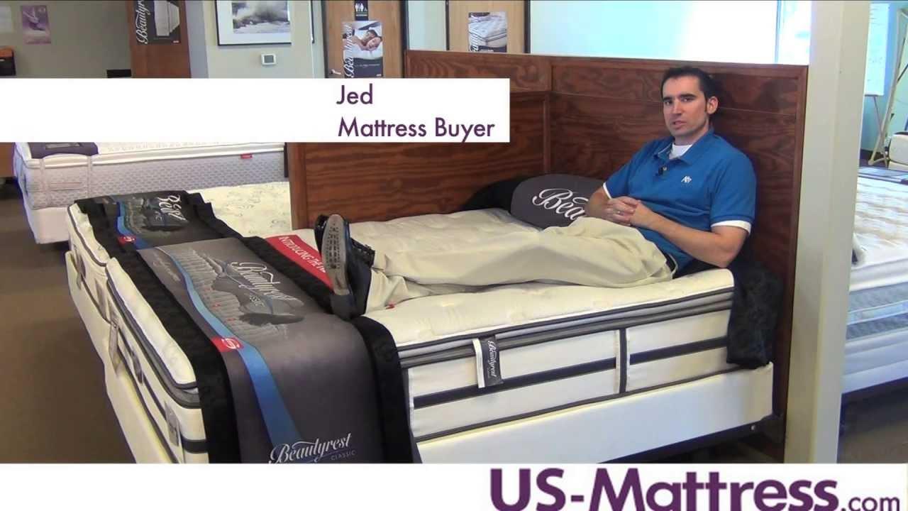 simmons beautyrest classic wyloway plush firm pillow top mattress