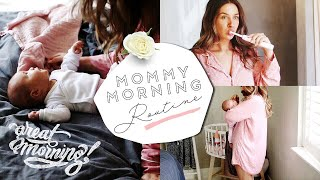 👶🏼 mommy morning routine 2018 💫