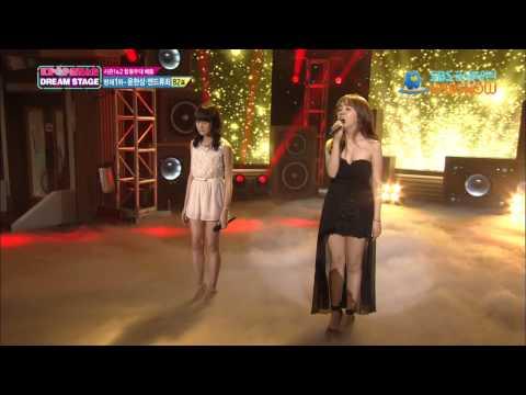 SBS [K팝스타2] - 백아연과 신지훈의 '레미제라블'
